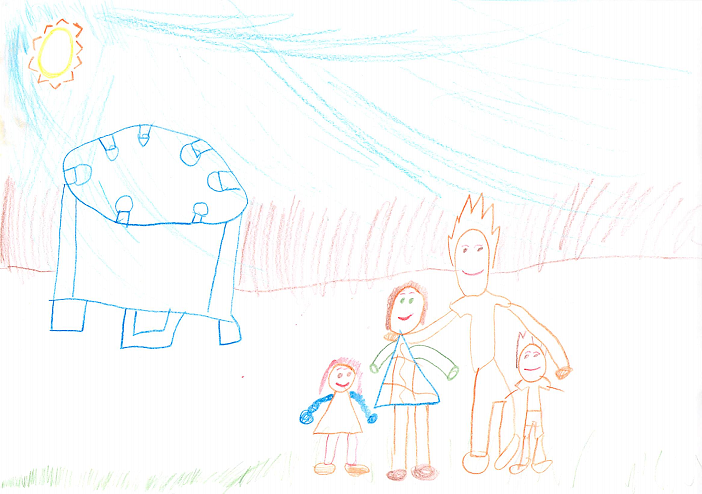 Family Portrait, By Kieren
